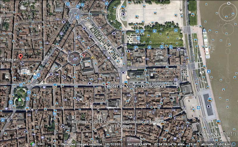 Nuestros alojamientos se encuentran en el borde del triángulo de oro en el centro de Burdeos.