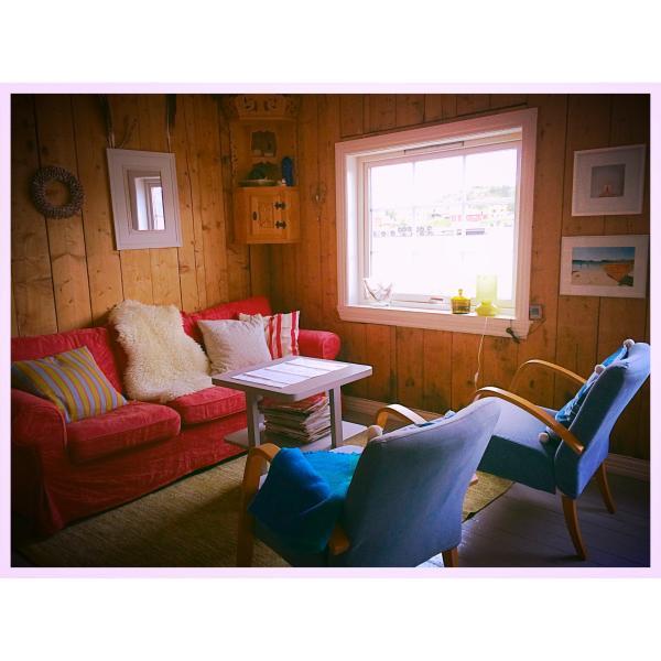 Livingroom in apartment Havørna.