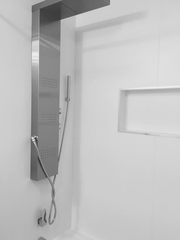 Shower system for customizable shower experience