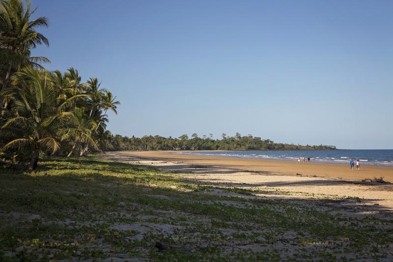 De longitud de onda de Mission Beach