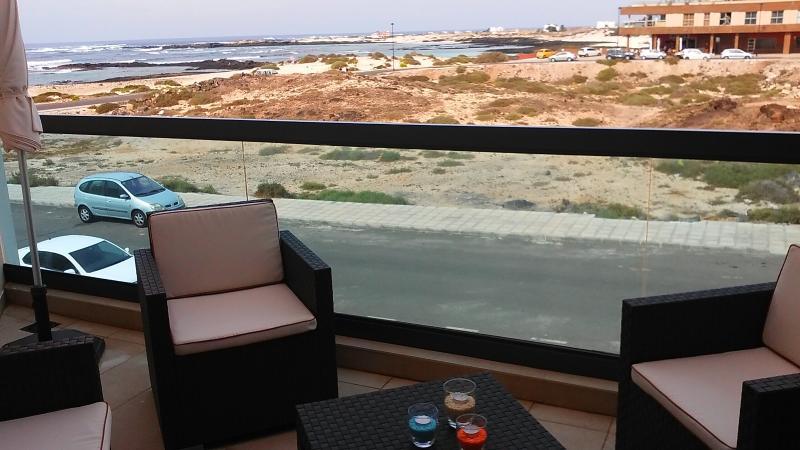 Balcón con vistas a las playas conocidas como Los Lagos