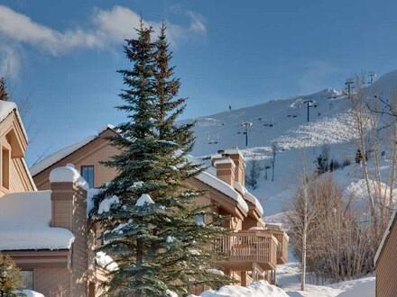 Your Snowcreek condo looking to Dollar Mountain