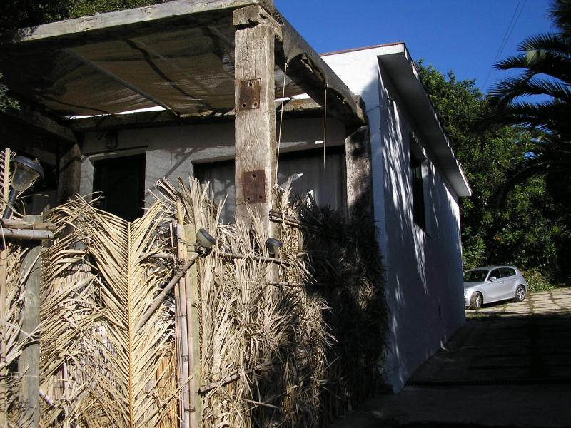 vista del bungalow