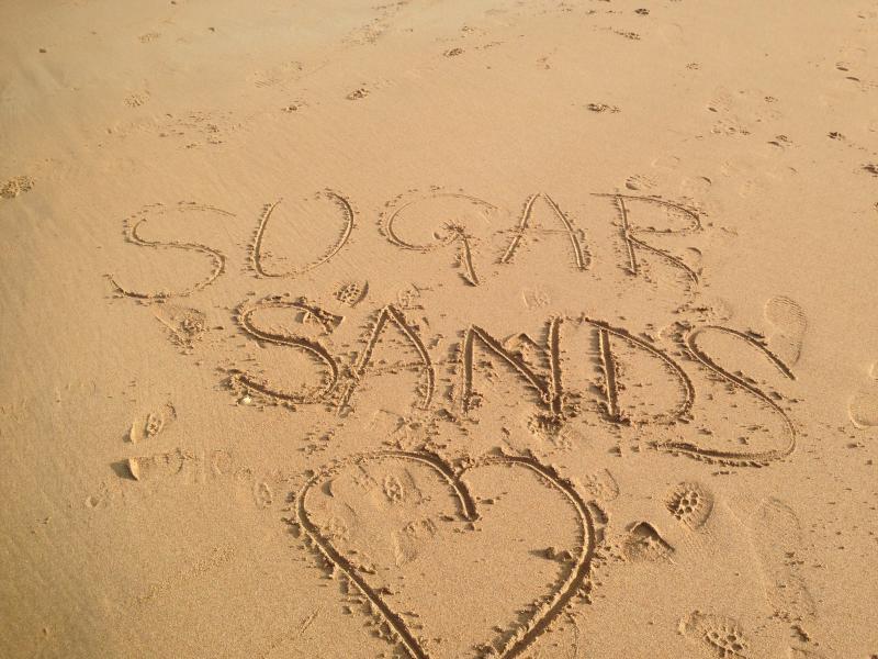 Sugar Sands Bay (15 minute walk down the lane)