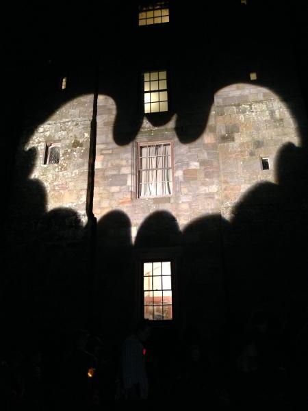 Chillingham Castle at Halloween