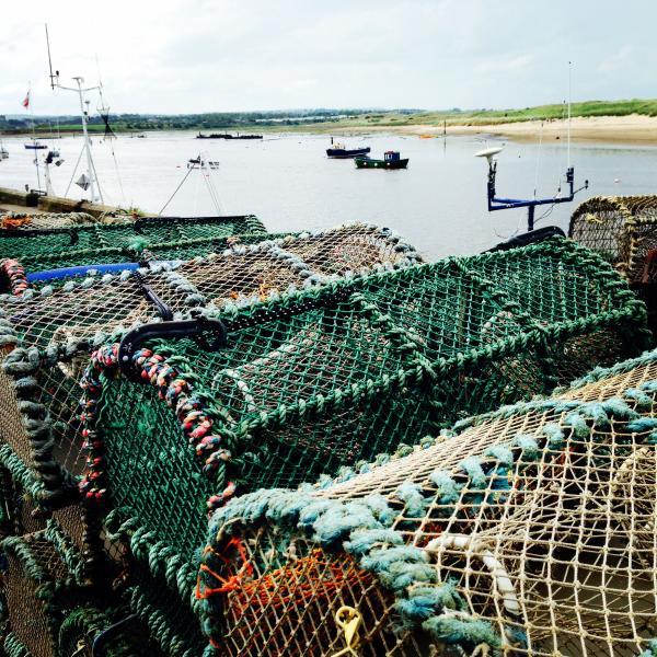 Amble Harbourside Lobster Pots