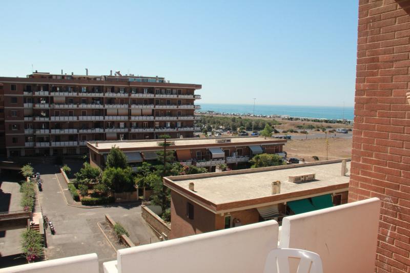 vista dal terrazzo dell'appartamento
