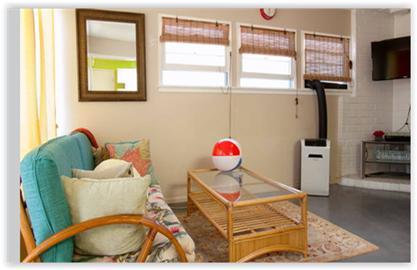 Living room with SMARTV