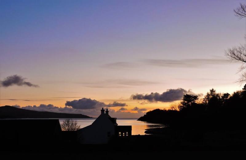 Ellary Farm at sunset
