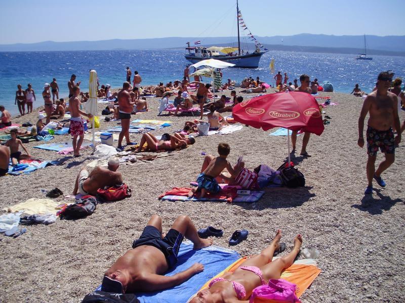 Beach at Seget Donji