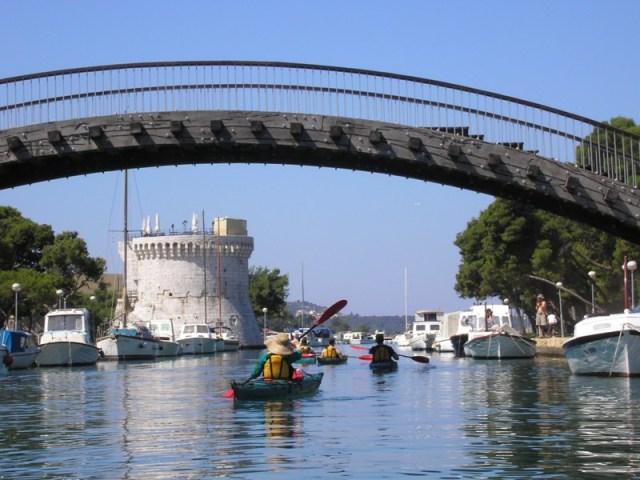 The Wooden Bridge+St. Mark's Fortress