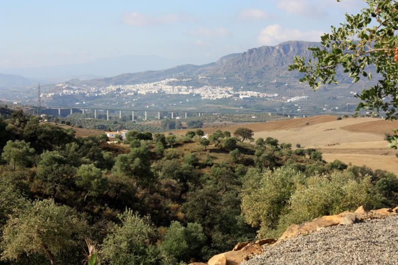 Uitzicht naar Álora.