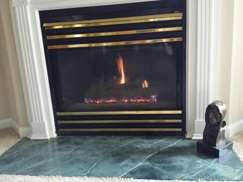 Gas Fireplace working