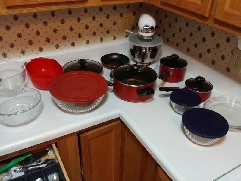 Pots & Pans, bowls