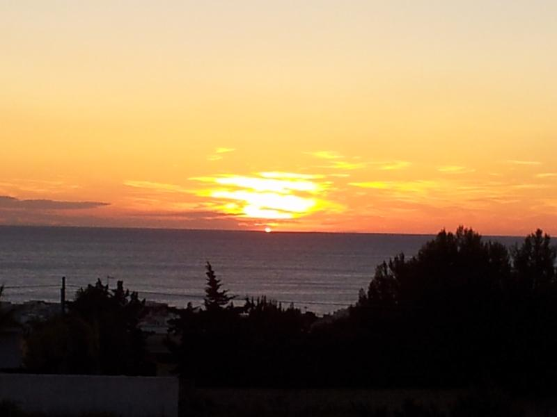 Sunset View from the Residence