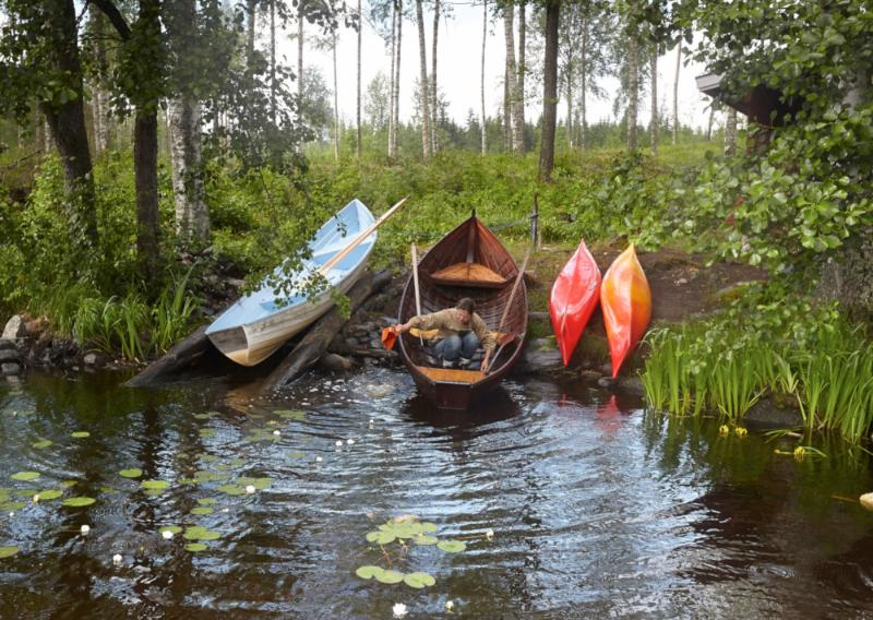 Rowboats and kayaks available for all