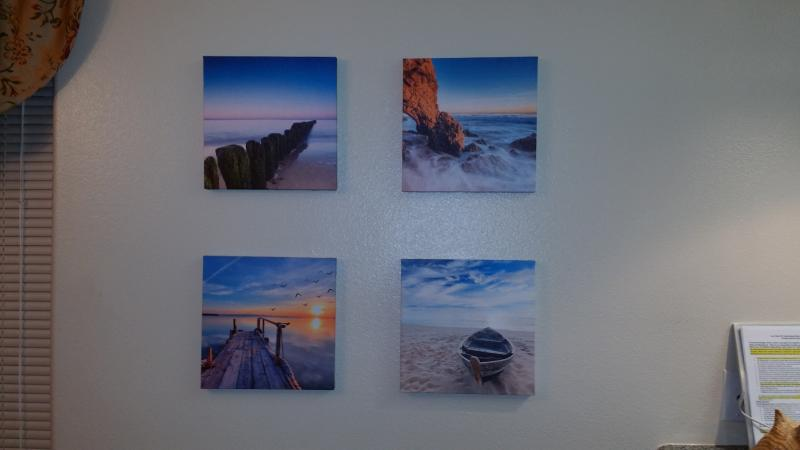 Wall Art lithographs of the ocean