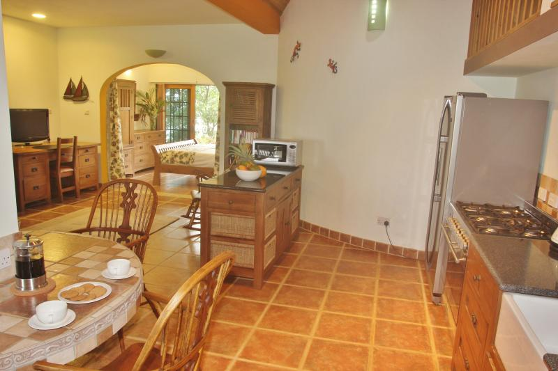 The internal dining area is very spacious and is equipped to the very highest standards
