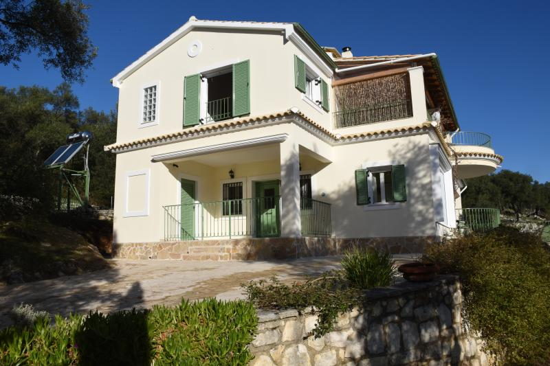 Villa Loukia with its new extension for 2016