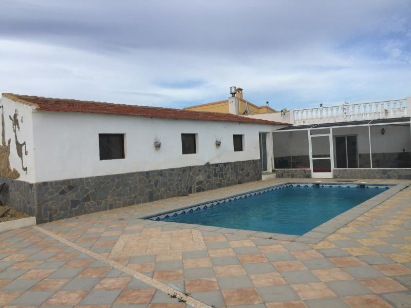 Front of house and patio/pool