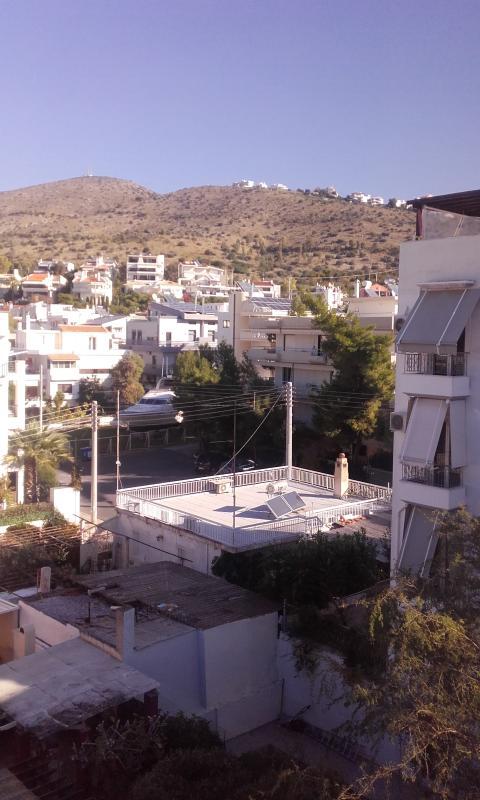 View towards mountain Imittos