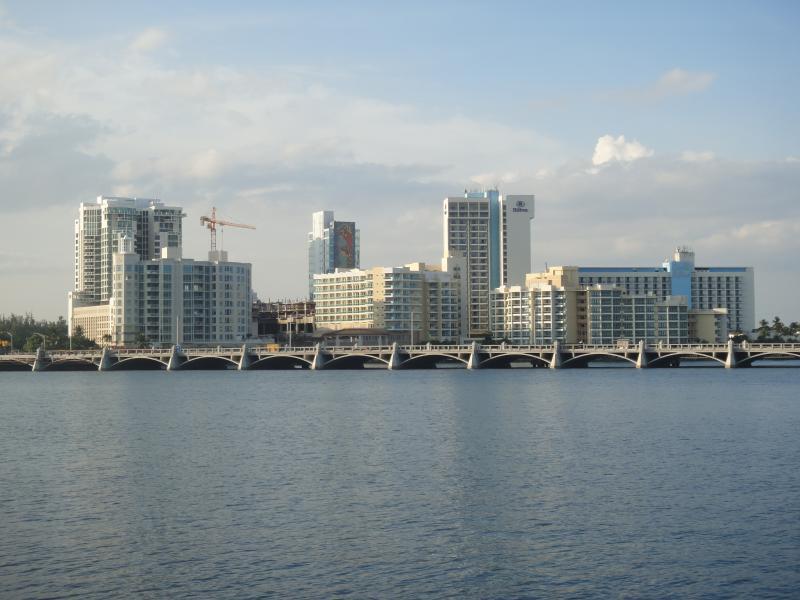 Condado lagoon - front of property