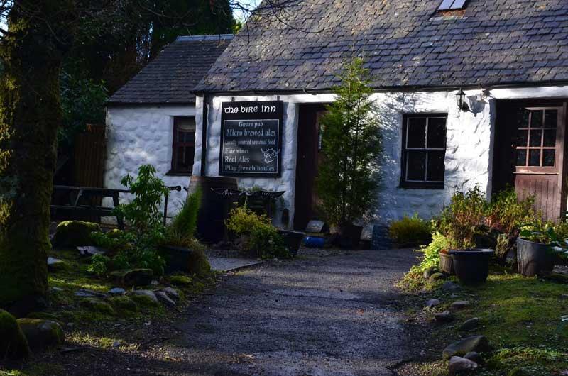 The Byre Inn - just 5 minutes walk away