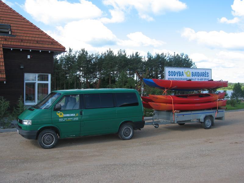 Kayaks for river trips