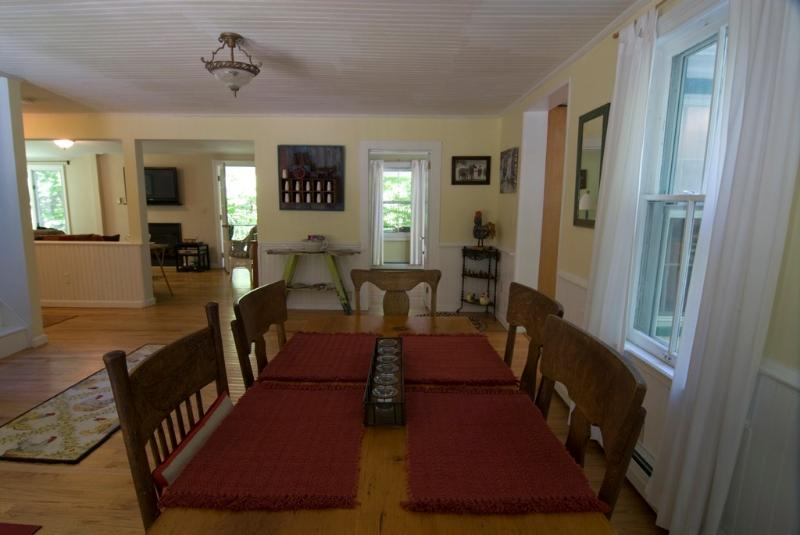 Country farm table