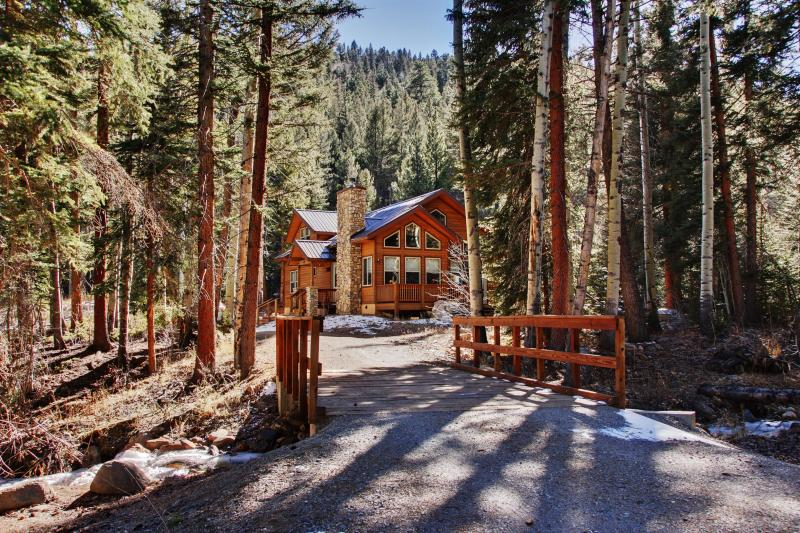 You'll love this home's incredibly secluded setting on 10 heavily forested acres