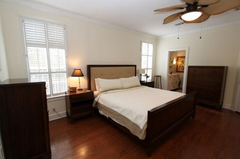 King Master Bedroom on First Floor