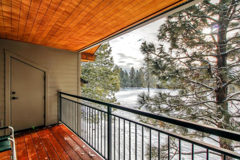 Enjoy marvelous views from the unit's private balcony