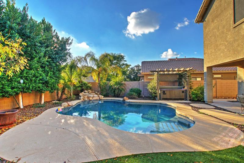 Godetevi la vostra oasi privata in questa casa affitto casa Mesa!