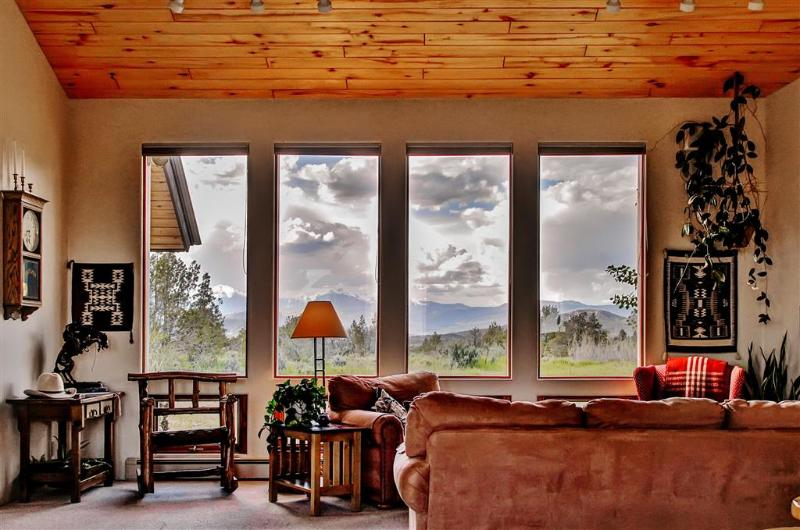 Enjoy magnificent views out the many large windows!