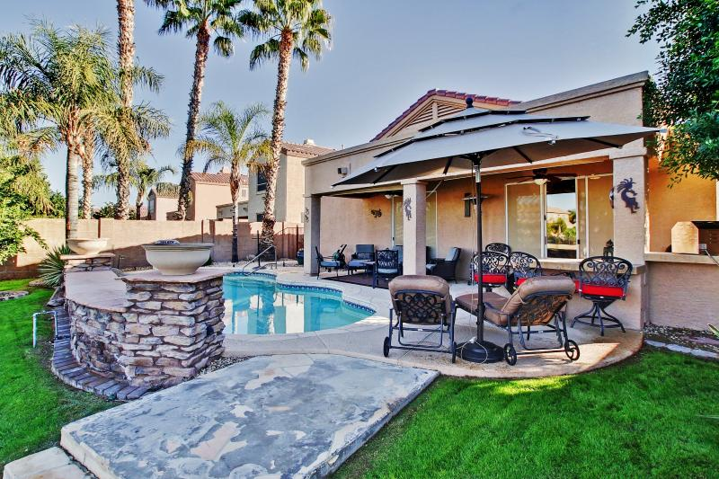Let this delightful Chandler vacation rental home serve as your own personal oasis in sunny Arizona!