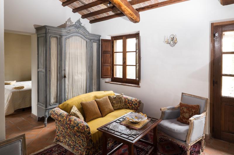 Capannetta sitting area