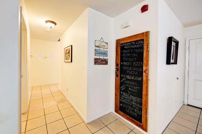 4' hallways and wider door way openings