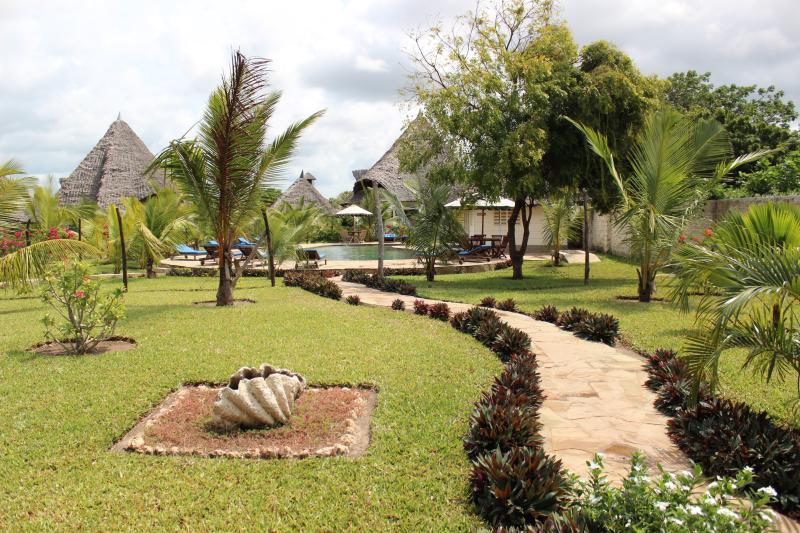 paradiesischer Garten