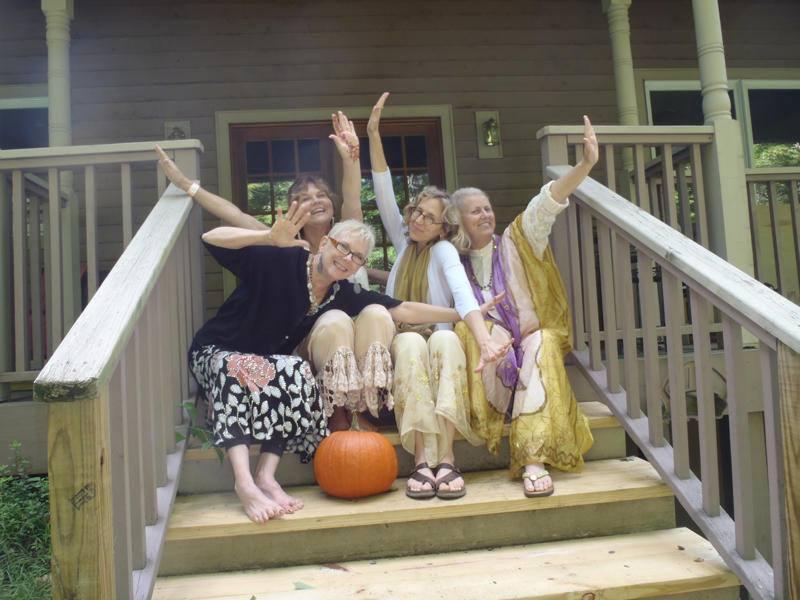 YaYa House owners...Sue, Anne, Carol and Shirley