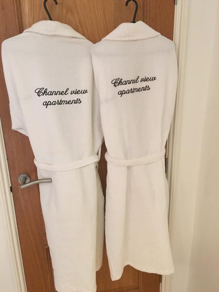 Dressing gowns provided!