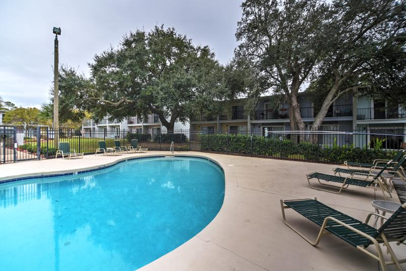 You'll love the pool access at this awesome Ocean Springs vacation rental condo