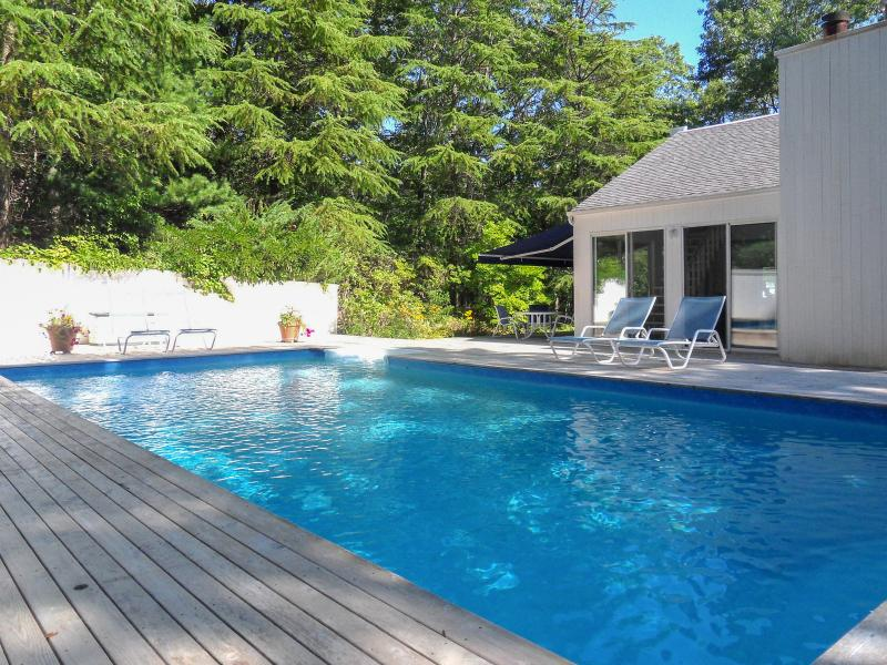 A private heated pool and several outdoor spaces are at your disposal!
