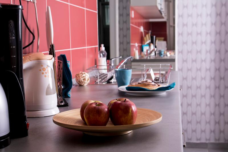 Kitchen - preparing for breakfast