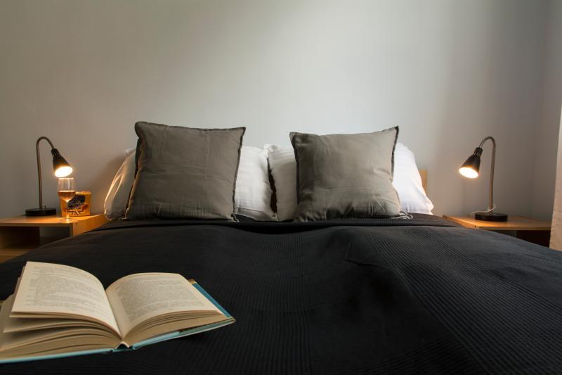 Bedroom 2 with night lights