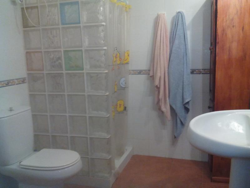 Baño en dormitorio principal.