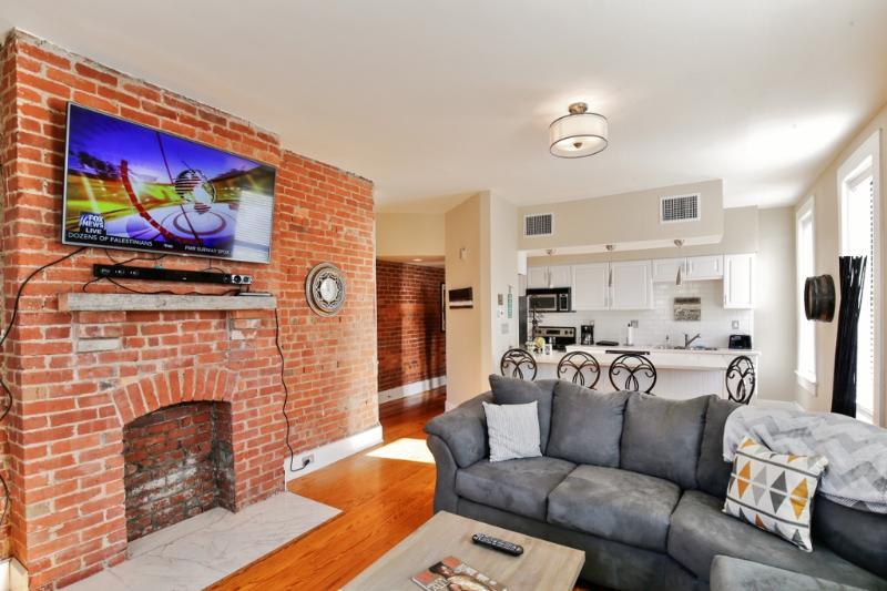 Disfrutar de una estancia relajante en este deslumbrante condominio de alquiler de vacaciones Indianápolis!