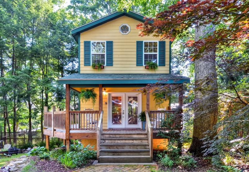 You're sure to create endless fond memories when you stay at this quaint Asheville vacation rental cottage!