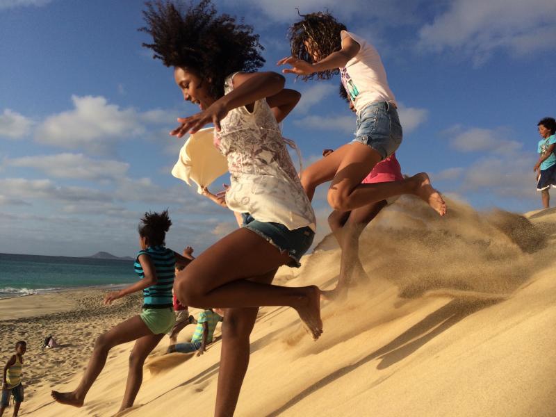 Santa Maria - Ponta Preta Beach Dune Jumping