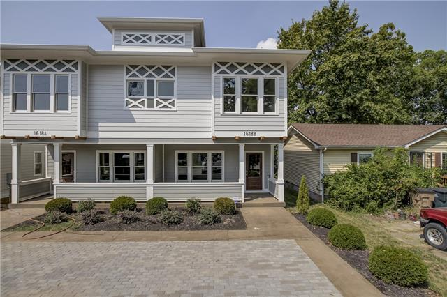 Beautiful brand new attached home in East Nashville with parking out front.