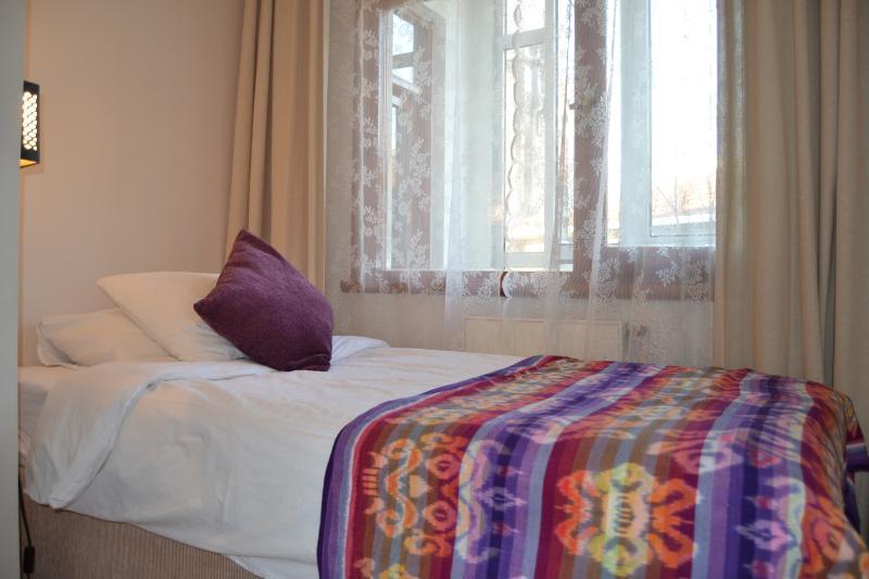 Bedroom 2, single bed.